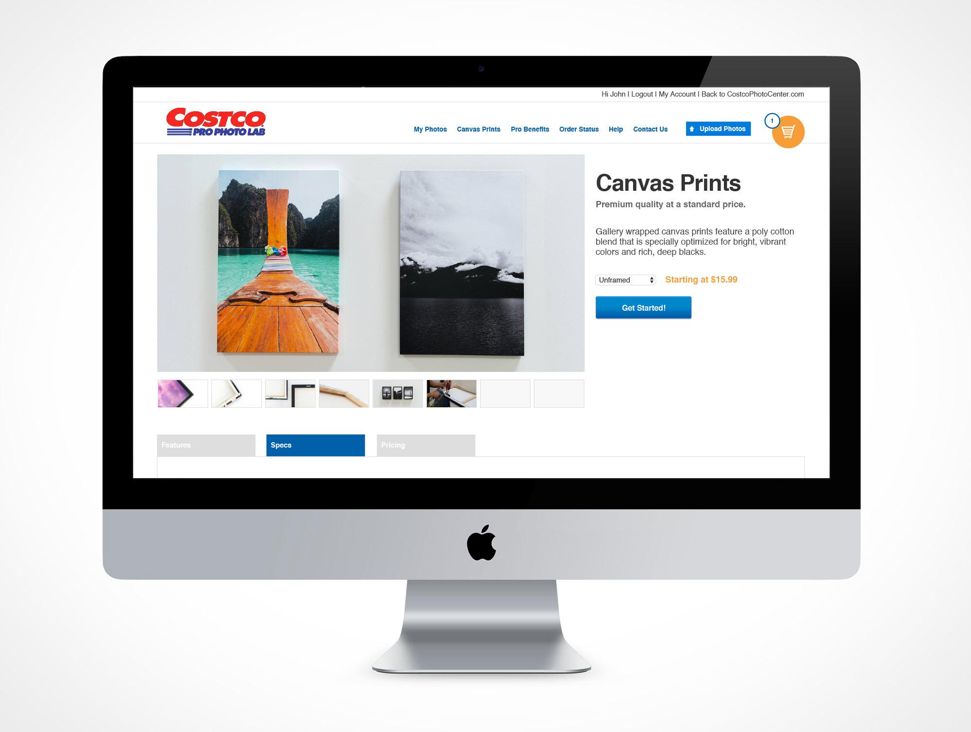 Costco Pro Photo Lab