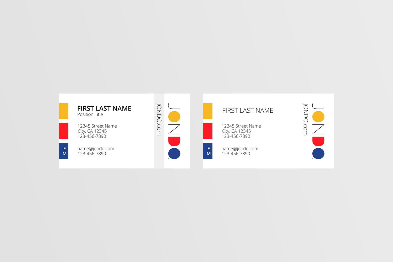 JONDO Business Cards