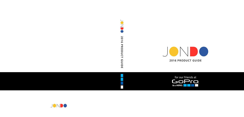 JONDO Product Portfolio for GoPro