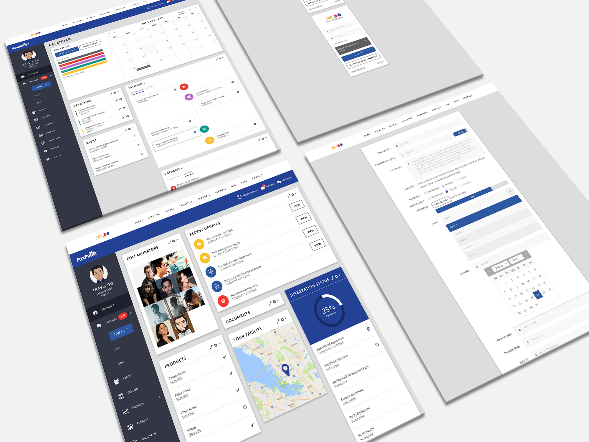 JONDO Network Dashboard