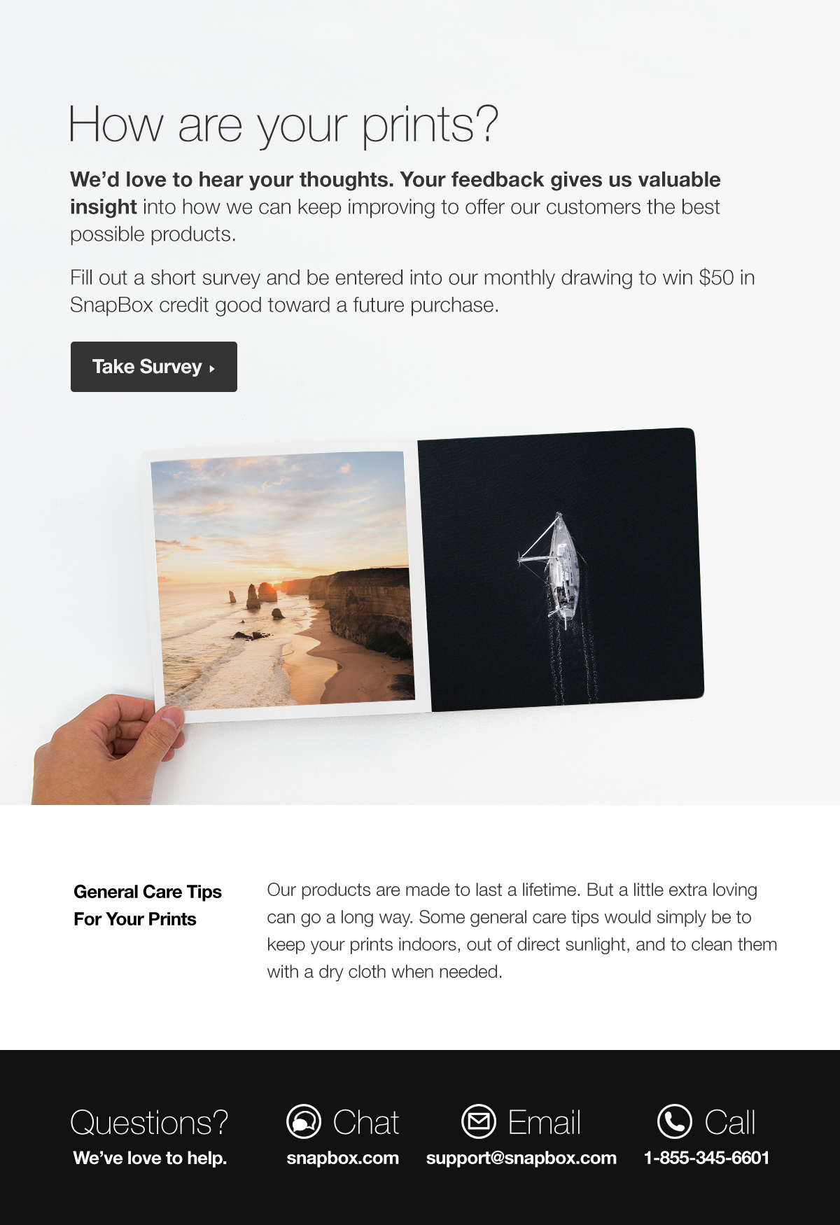 SnapBox Automated Emails