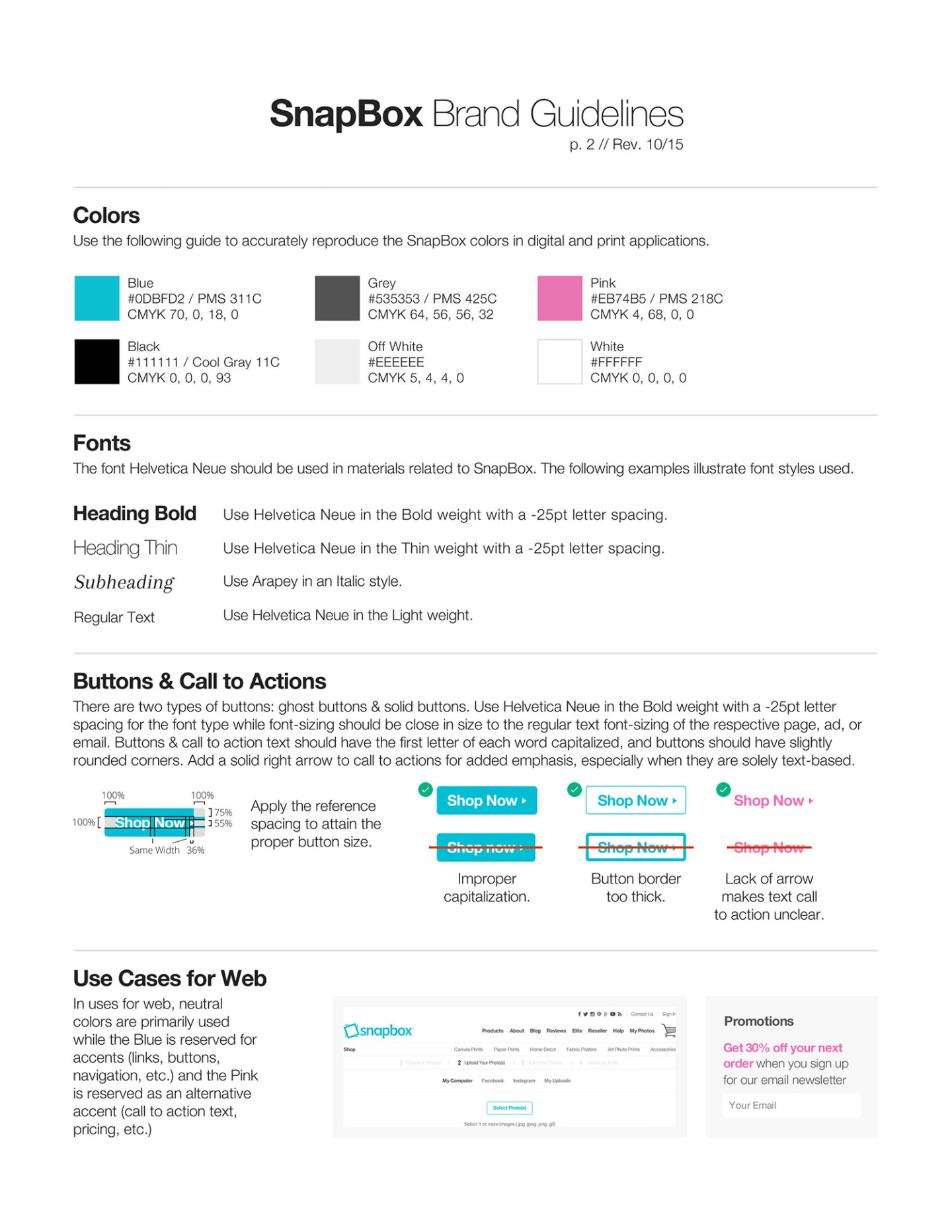 SnapBox Brand Guidelines